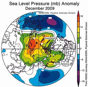 Extreme Negative Phase Of The Arctic Oscillation Yields A