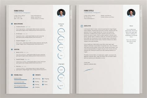 85 free cv indesign resume templates in ai html psd