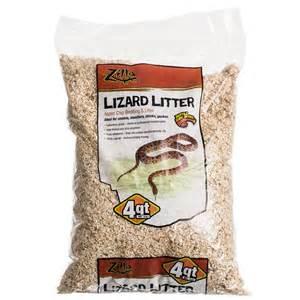 zilla zilla lizard litter aspen chip bedding litter