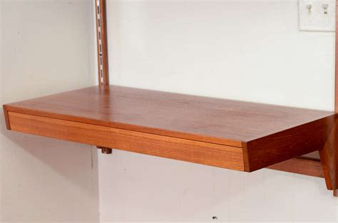 wall mounted desk danish modern wall mounted desk at 1stdibs