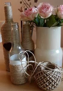 Deko Mit Flaschen : glasflaschen als dekoration ~ Frokenaadalensverden.com Haus und Dekorationen