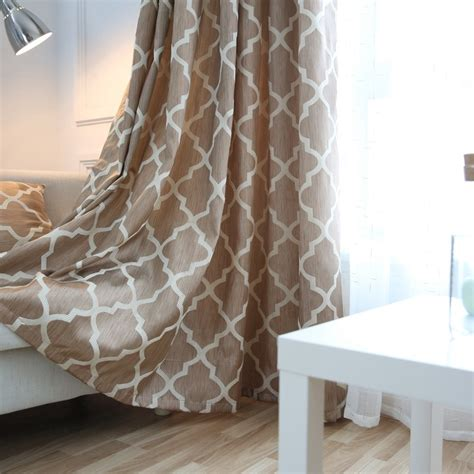 Fabrics For Curtains And Cushions by Aliexpress Buy Modern Window Curtains Home