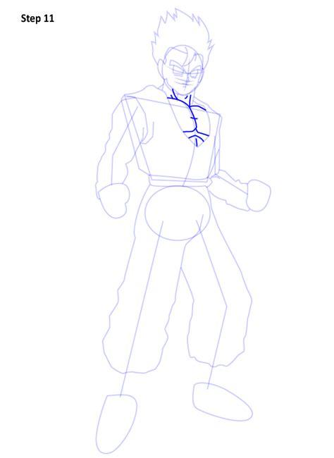 como desenhar  gohan de dragon ball  muito facil aprender  desenhar
