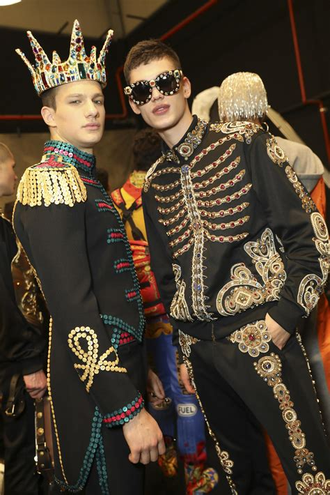 backstage moschino fw   mens collection  woman