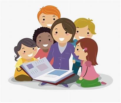 Teacher Classroom Clipart Reading Students Interventions Teaching