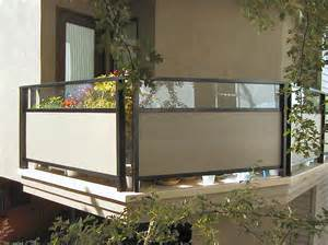 Privacy Glass Deck Railing by Aluminum Deck Railing Cheap Deck Railing Tempered Glass