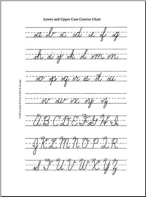 cursive letters view lowercase  uppercase