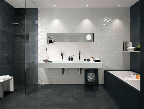 id 233 e de carrelage pour la salle de bain en noir et blanc salle de bain les