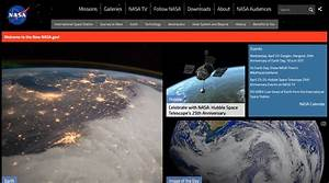 Image Gallery nasa website