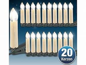 Led Weihnachtsbaumkerzen Kabellos : lunartec led weihnachtsbaum lichterkette mit 20 led kerzen ip20 ~ Eleganceandgraceweddings.com Haus und Dekorationen