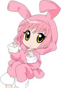 Cute Chibi Anime Bunny Girls