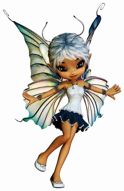 Fairy Fairies Poser Tubes Dolls Fantasy Cookie