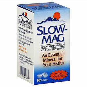 Buy Slow-Mag 60-Count Magnesium Chloride Tablets from Bed