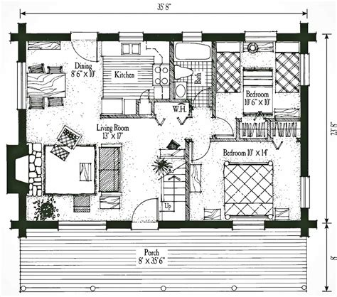 Winchester Mystery House Floor Plan by 2 Bedroom Log Cabin Plans With Loft Studio Design