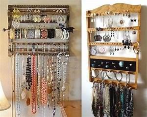 Idée Rangement Bijoux : trucs et astuces pour ranger ses bijoux bijoux astuces pour ranger les bijoux astuce ~ Melissatoandfro.com Idées de Décoration