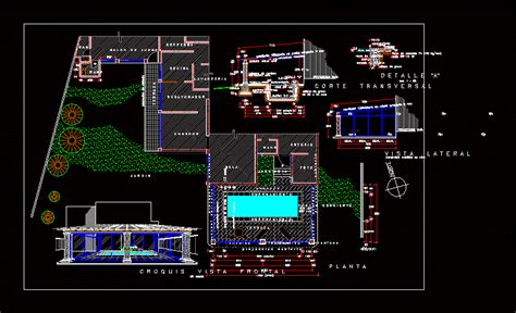 swimming pool dwg block  autocad designs cad