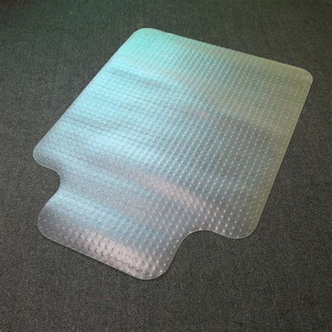 new pvc 90x120cm anti slip chair spike mat frosted carpet