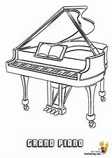 Yescoloring Pergamino Pianos Percussion sketch template