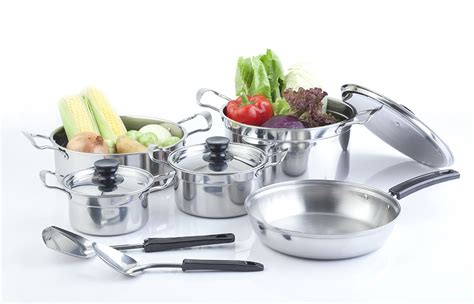 gas stove pots pans sets cookware