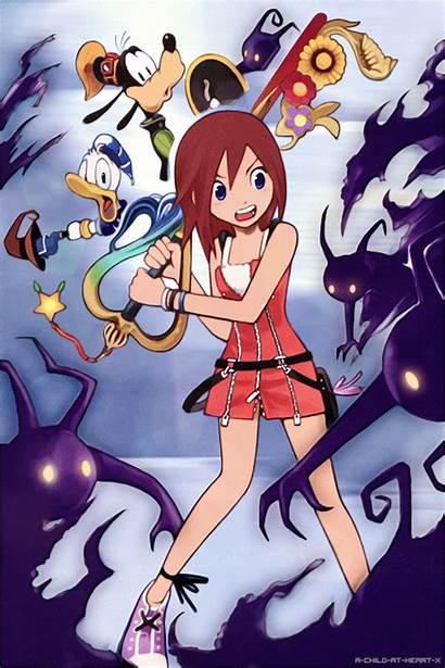Kingdom Hearts Sora Goofy Kairi Fanart Donald