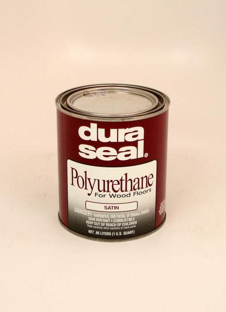Dura Seal Satin Oil Based Polyurethane for Hardwood Floors