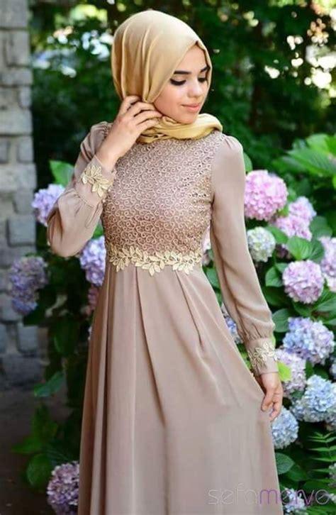 simple elegant gaun gaya abaya  gaun pesta