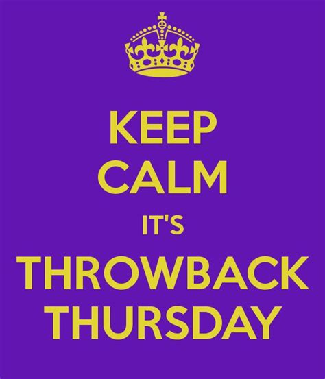 9 Best Images About Throwback Thursday Ideas On Pinterest