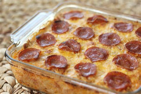 Blog Pepperoni Spaghetti Squash Casserole