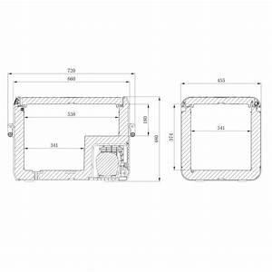 Dometic Cfx3 55  Freezer  55 L