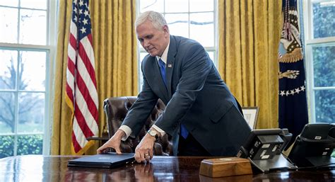pence president mike trump does office oval ap russia he politico aide story