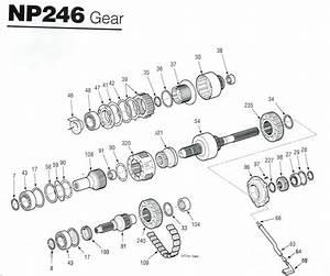 Np 246 Transfer Case Rebuild Kits    Parts