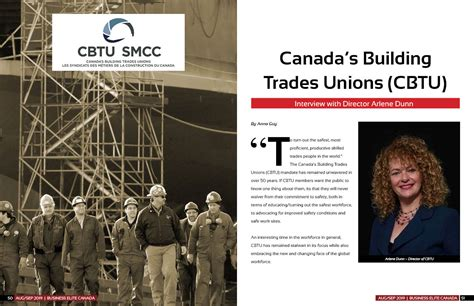 canadas building trades unions cbtu business elite