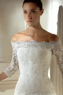 vintage lace wedding dresses with sleeves vintage lace the shoulder wedding dresses sang maestro