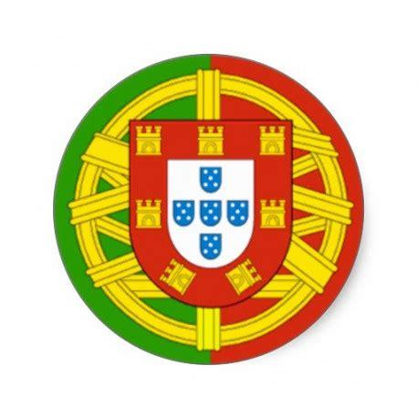 sticker autocollant portugal logo en forme de rond