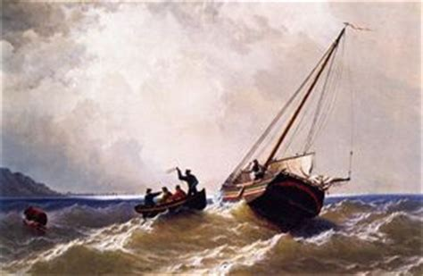 Tow Boat Nantucket by William Bradford