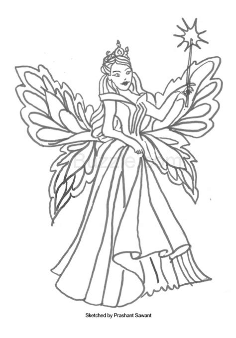 Boy Fairies Coloring Pages at GetColorings com Free