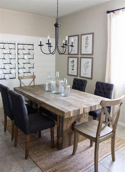 Modern Farmhouse Dining Room & Diy Shiplap  Home Sweet