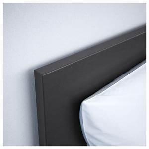 Cadre Noir Ikea : malm cadre lit coffre brun noir 140x200 cm ikea ~ Teatrodelosmanantiales.com Idées de Décoration