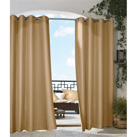 decorative curtains drapes commonwealth outdoor decor gazebo 84 quot grommet curtain