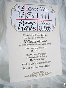 15 best vow renewal images on pinterest vow renewals With wedding invitations for renewal of vows