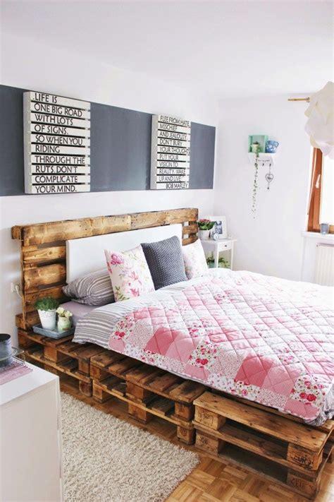 creative wood pallet bed design ideas diy pallet bed bedroom furniture design pallet