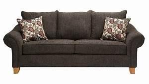 Slumberland Furniture Amherst Collection Smoke Sofa