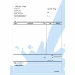 Taxi Bill Format Chennai Invoice Book Suppliers Manufacturers Traders In India