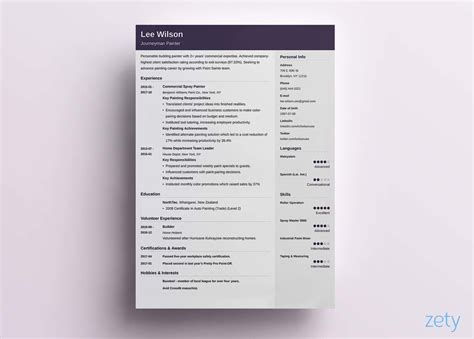 good resume templates  examples