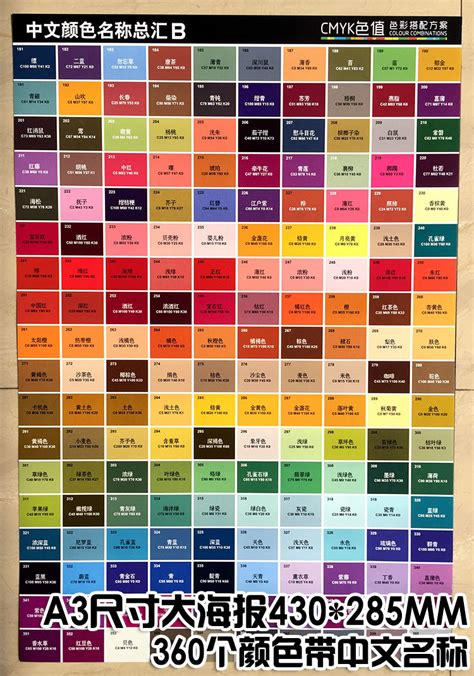 another name for color usd 6 52 color name poster color matching