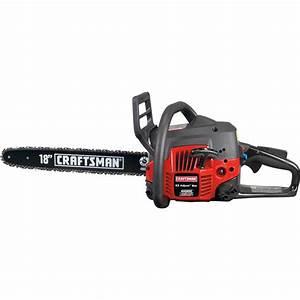 Craftsman 42cc 18 U0026quot  Gas Chain Saw