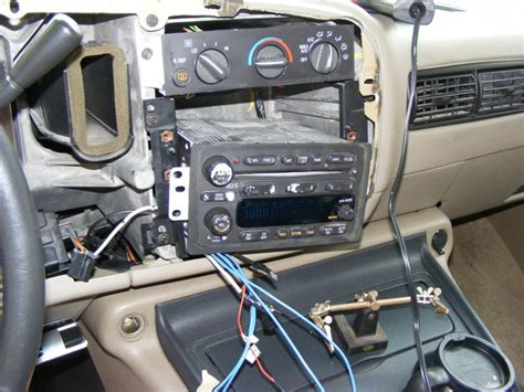 chevy bose aux jack install