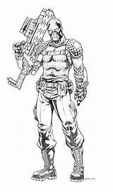 Joe Gi Coloring Plague Printable Deathstroke Cartoon Grimskull Atkins Cool Viper Robertatkins Robert Deviantart Artwork Kolorowanki Cobra Character Guillotine Comic sketch template