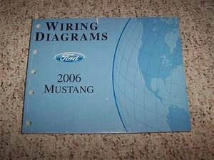 2006 Ford Mustang Electrical Wiring Diagram Manual Convertible Gt V6 V8 4 0l