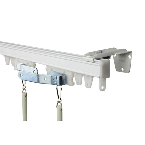 ceiling mounted curtain track home depot winda 7 furniture
